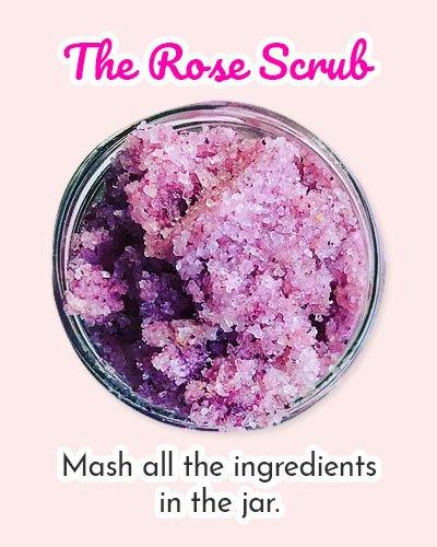Rose Scrub Recipes