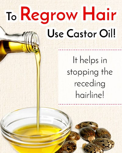 Castor Oil for Hair Regrowth