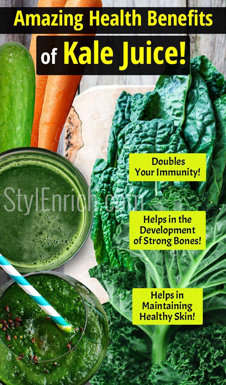 kale juice recipe