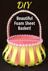Foam-sheet-basket