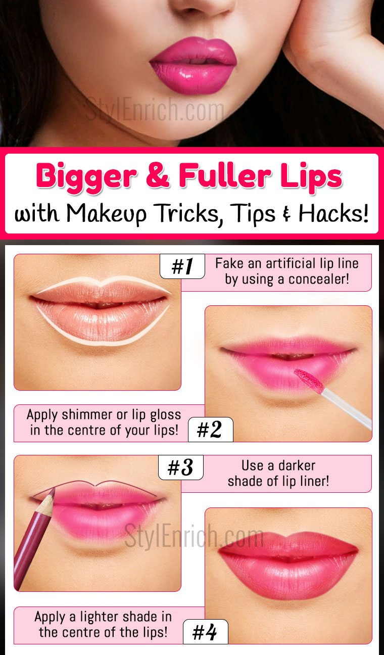 How to get fuller lips