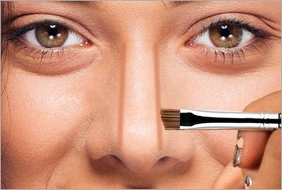 Step2 contour nose to look thinner