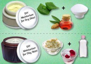 Natural face moisturiser