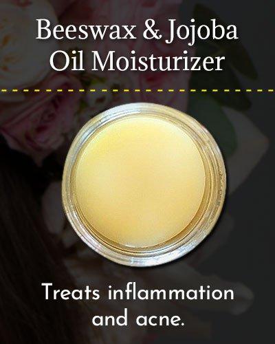 Beeswax and Jojoba Oil Moisturizer
