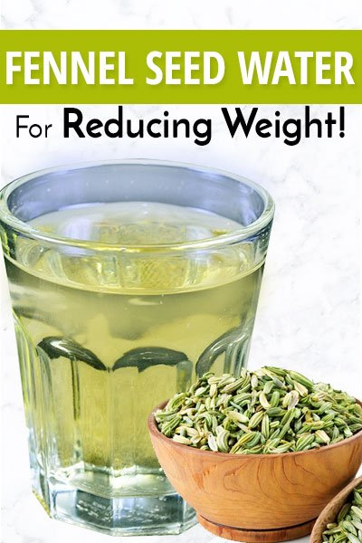 Cool Fennel Seeds Water