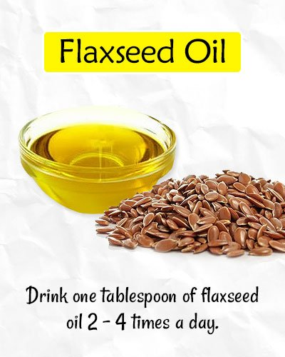 Flaxseed Oil to Get Rid of Forehead Wrinkles