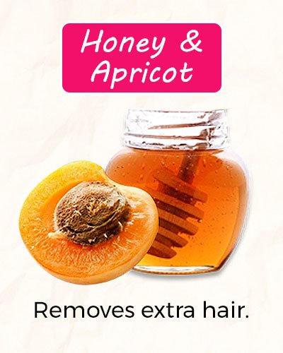 How To Get Rid of Facial Hair Using Honey and Apricot?