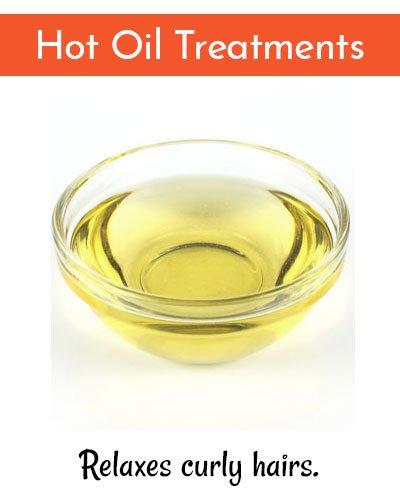 Hot Hair Oil Treatments ForHair Straightening