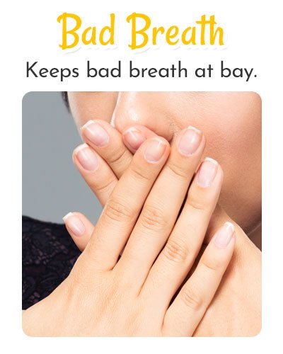 Lemon Essential Oil for Bad Breathe