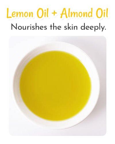 Lemon Oil and Almond Oil