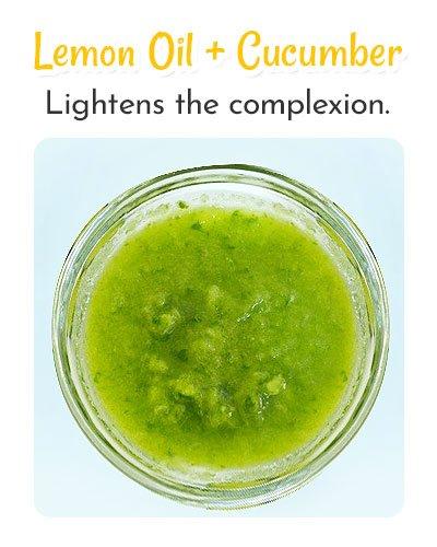 Lemon Oil and Cucumber