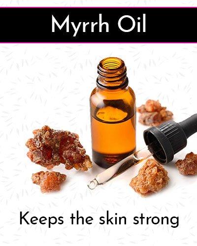 Myrrh Oil for Face Wrinkles