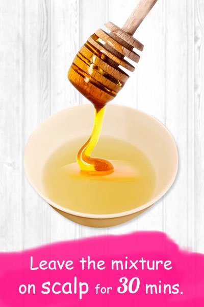Onion Juice and Honey For Hair Growth