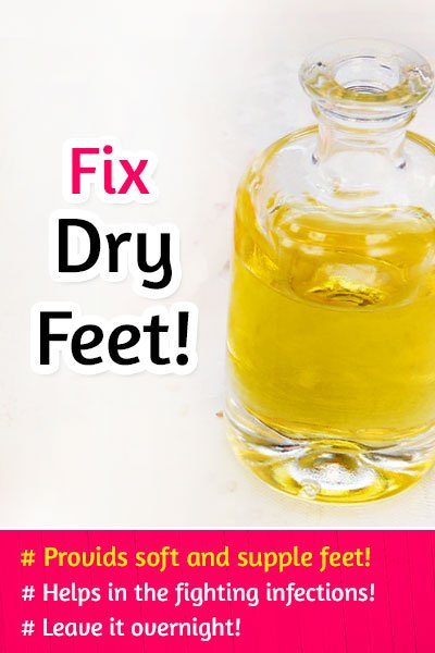Sesame Oil Solution to Fix Dry Feet