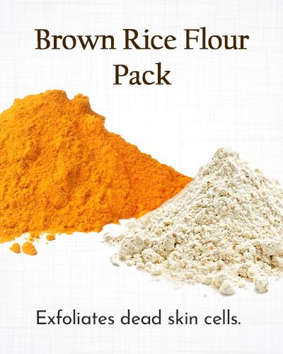 Turmeric Pack with Brown Rice Flour