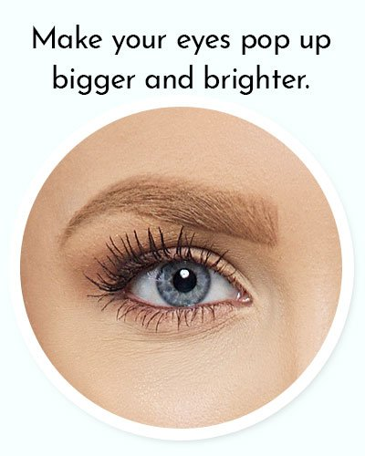 Use A Heavy Volumizing Mascara
