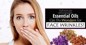 Essential oils for face wrinkles