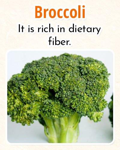 Broccoli ForBurning Fat
