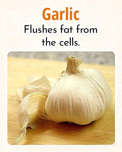 Garlic ForBurning Fat