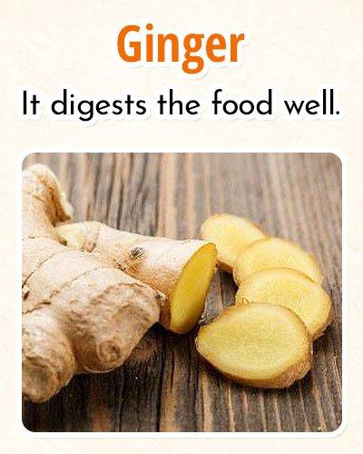 Ginger ForBurning Fat