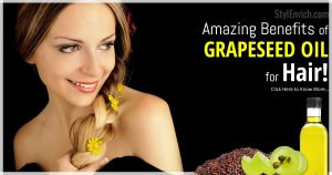 Grapeseed Oil for Hair