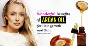 Benefits of argan oil for hair growth and skin