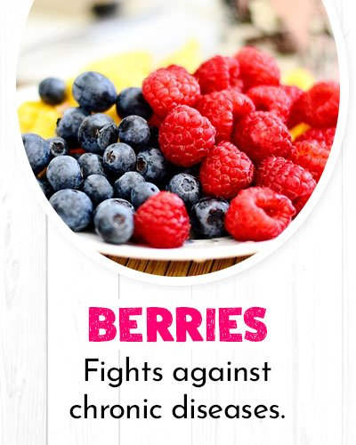 Berries For Healthy Heart
