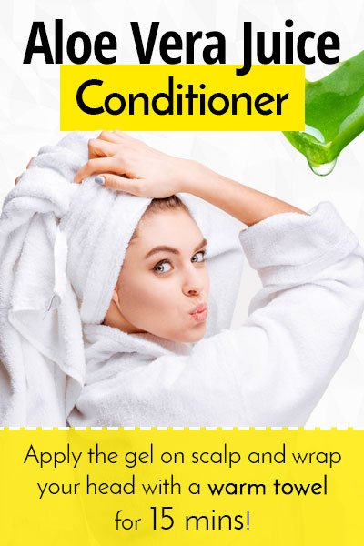 Hair Conditioner With Aloe Vera