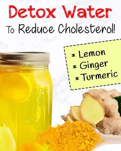 Lemon, Ginger, Turmeric Detox Drink