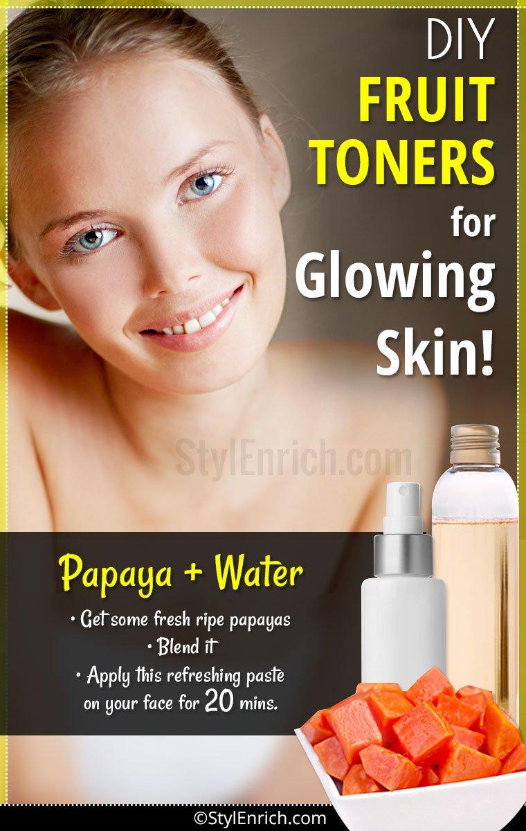 DIY Face Toner For Glowing Skin
