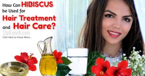 Hibiscus for Hair Treatment and Hair Care