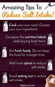 Tips To Reduce Salt Intake