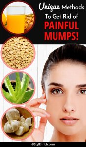 Unique Methods To Get Rid Of Painful Mumps