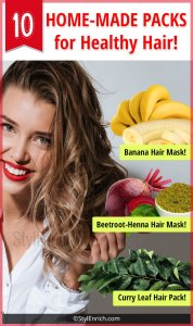 Homemade Masks For Healthy Hair!