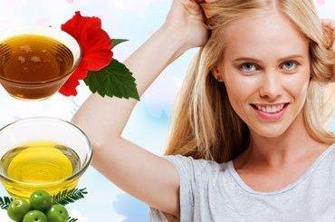 Homemade Hair Oil