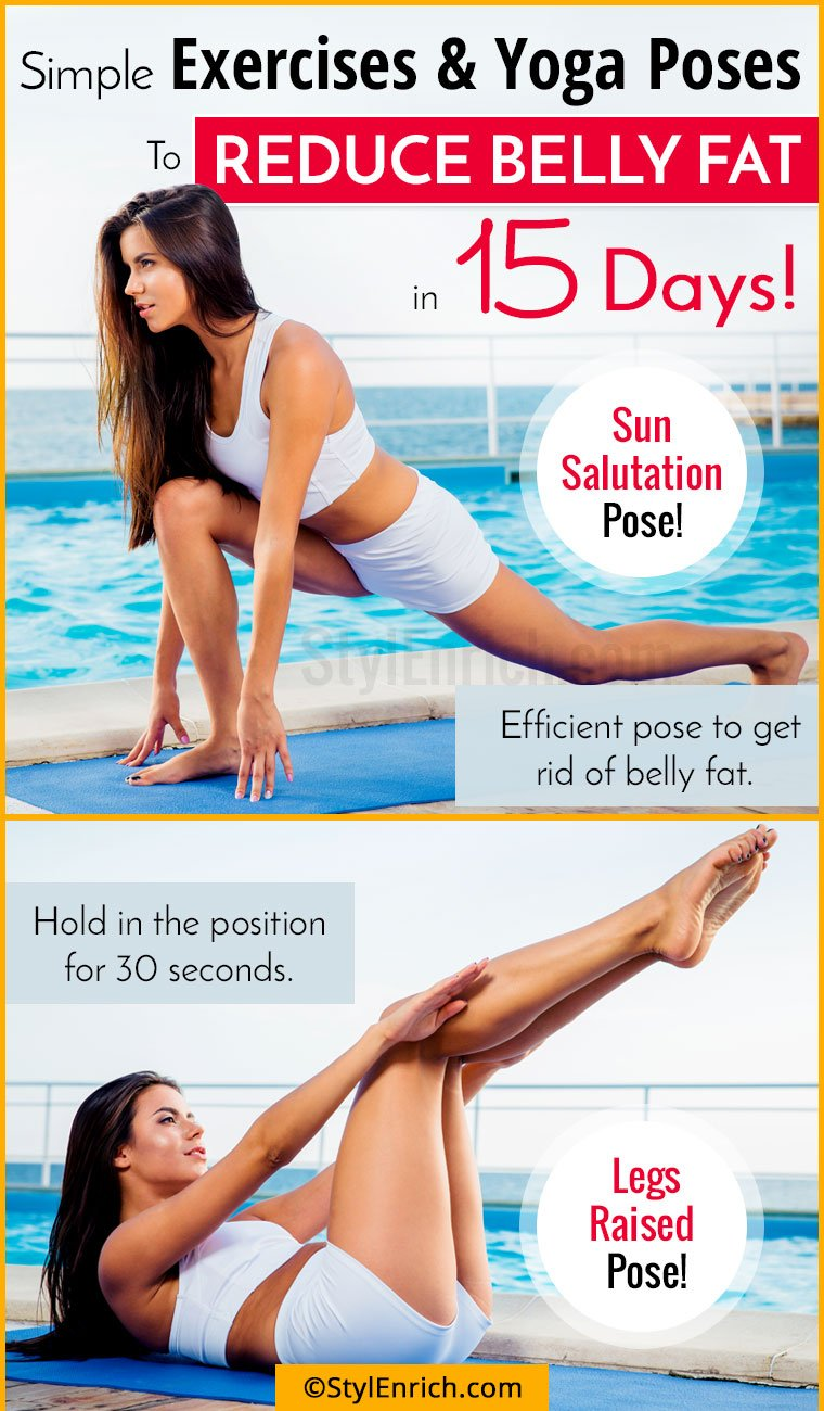 exercise to reduce belly fat with pictures pdf