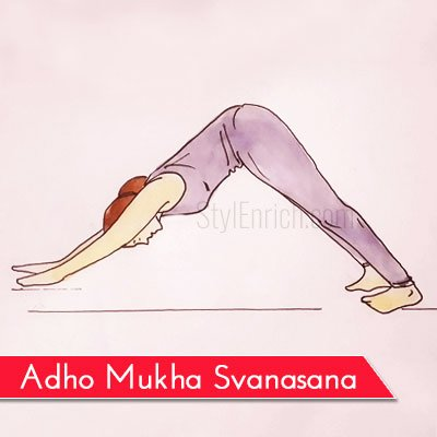 Adho Mukha Svanasana to Get Rid Of Belly Fat