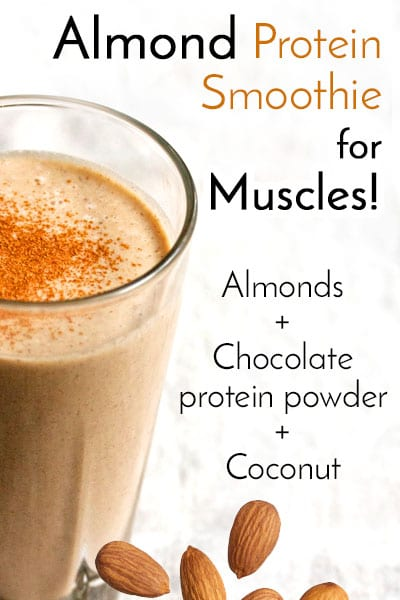 Almond Protein Smoothie
