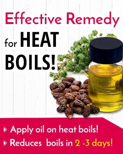 Castor oil For Heat Boil