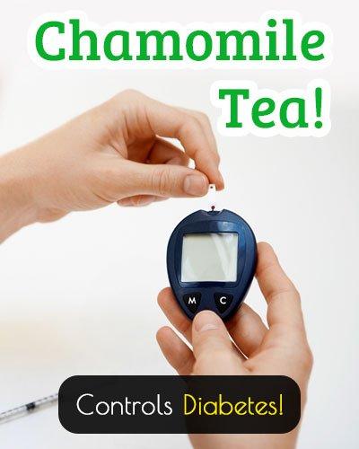 Chamomile Tea Controls Diabetes
