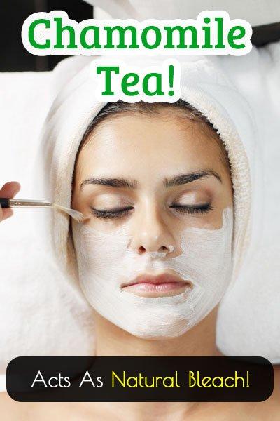 Chamomile Tea Natural Bleach