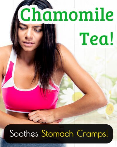 Chamomile Tea for Ulcers And Stomach Cramps
