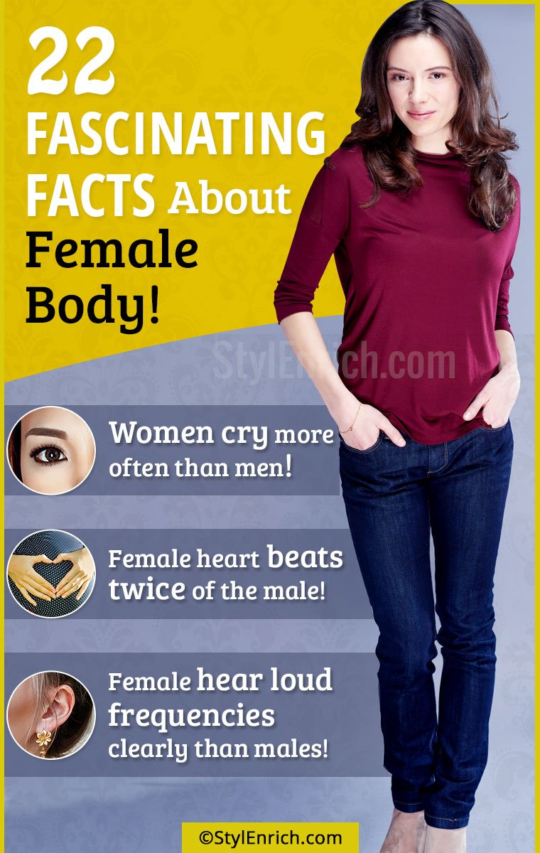 Fascinating Facts About Female Body!