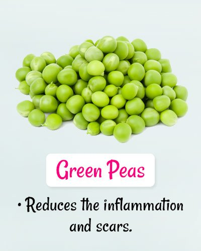 Green Peas For Chickenpox
