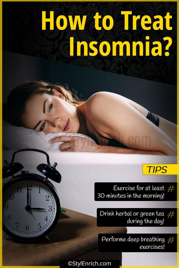 How To Treat Insomnia?