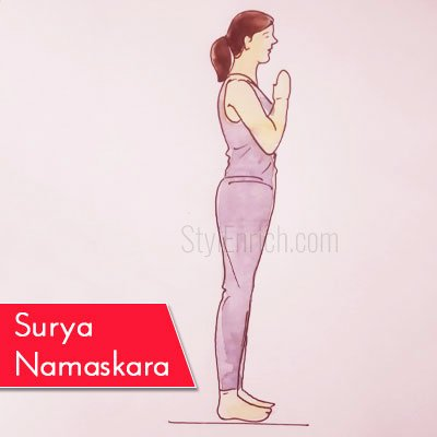 Surya Namaskara to Get Rid Of Belly Fat