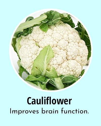 Cauliflower Omega 3 Rich Foods