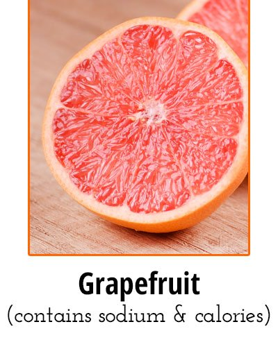 Grapefruit Low Sodium Food