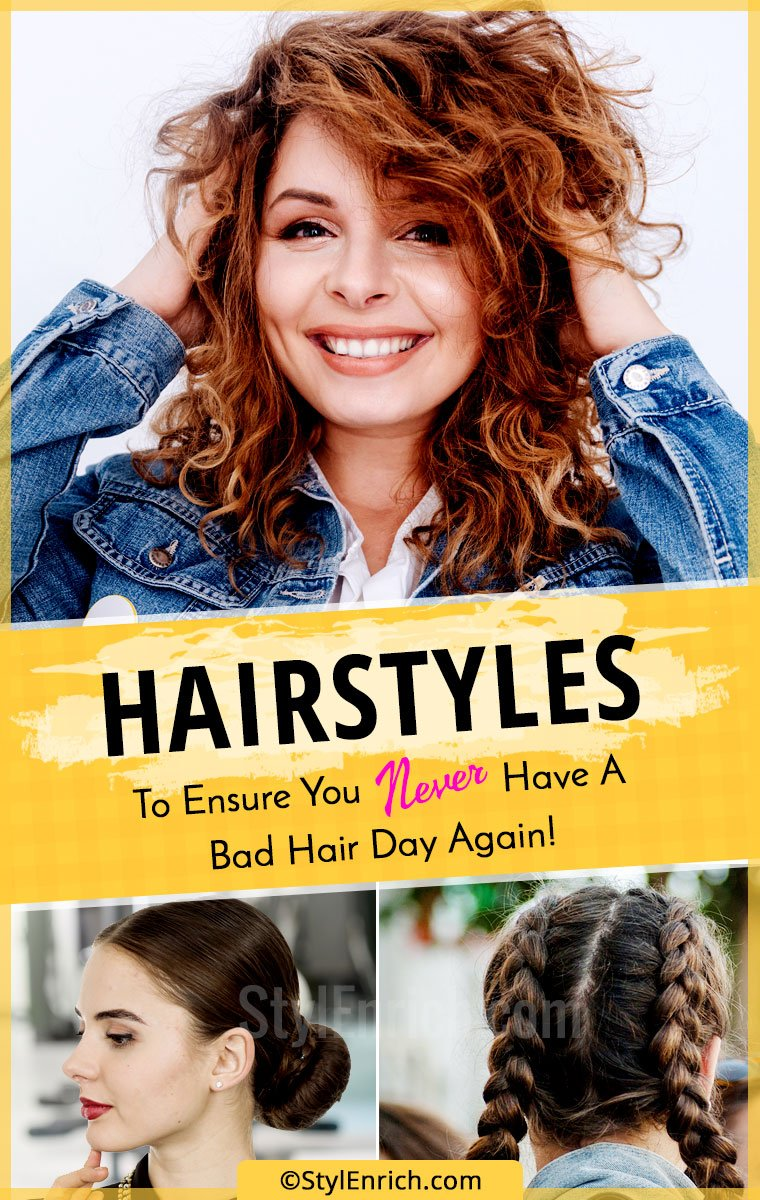 Bad Hair Day Hairstyles