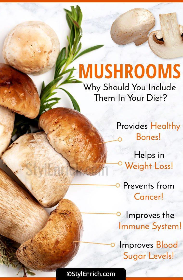 Benefits Of Mushrooms